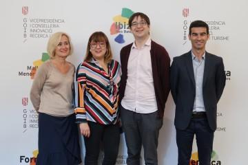 Marta Jacobs, Bel Busquets, Biel Frontera i Carles Bibiloni