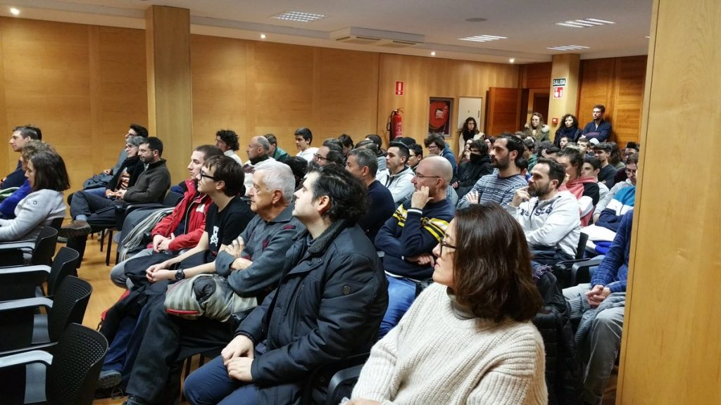 Públic assistent a les STEM Talks Menorca